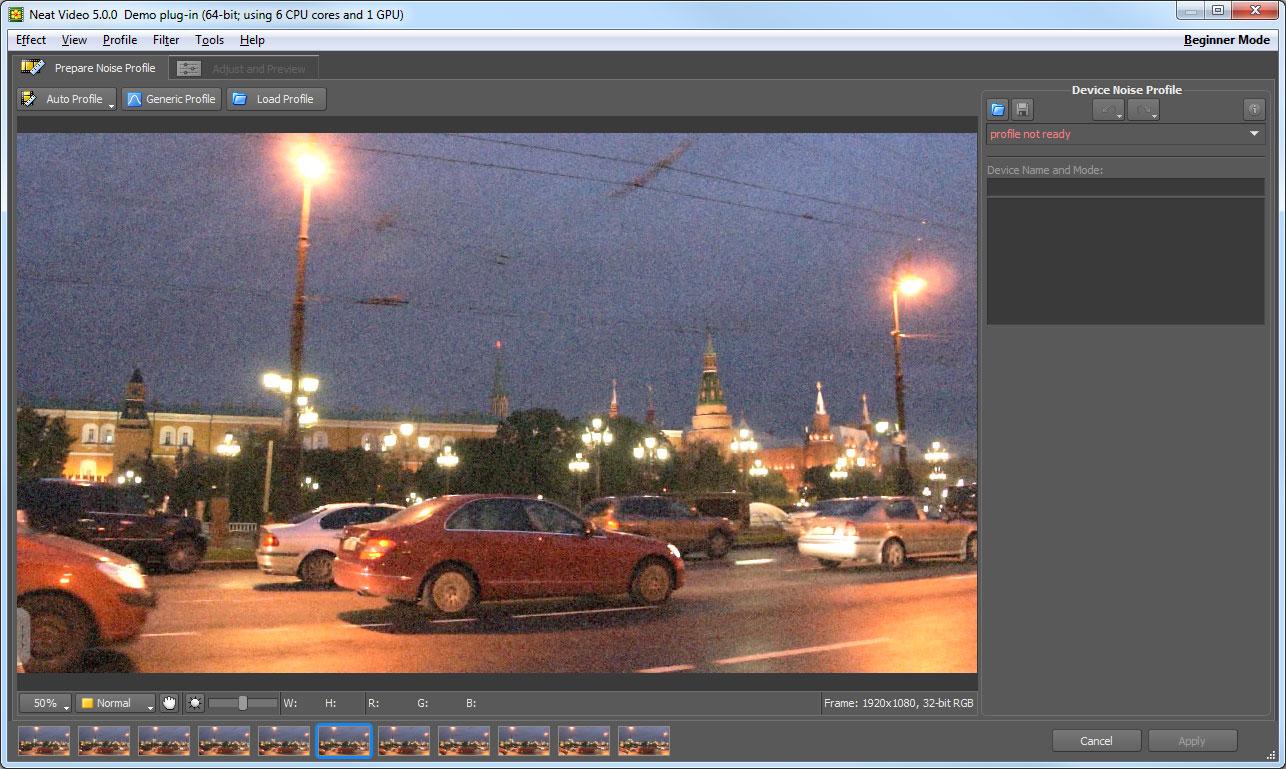 Neat Video for Premiere x64 screenshot